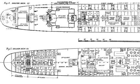 28 titanic floor plans titanic plans pinterest