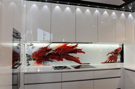 wall panels for kitchen backsplash painted glass kitchen splashbacks