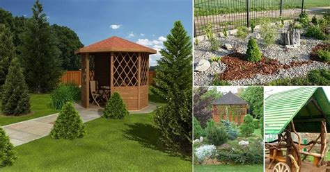 Idejas dārziem 3626 - 3650   Garden arch, Outdoor, Outdoor ...