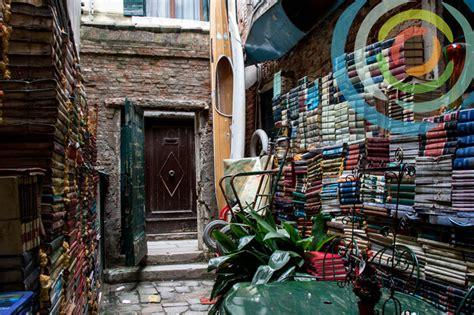 Libreria Acqua Alta   An original Bookstore in Venice Italy
