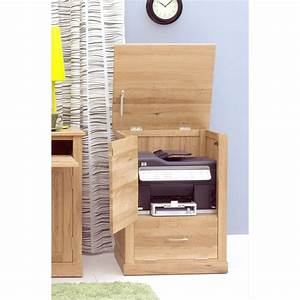 Mobel Printer Computer Storage Cabinet Cupboard Solid Oak