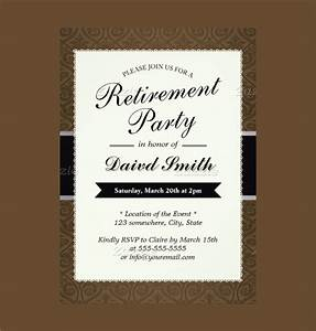 12 retirement party invitations psd ai With free templates for retirement invitations