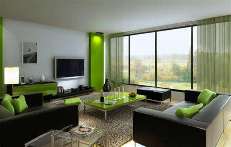 Wandgestaltung Wohnzimmer Grün by Wohnideen Gr 252 N