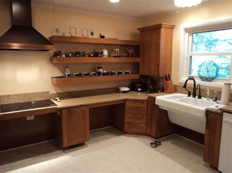 Open Kitchen Shelving Ideas - 7 beautiful kitchens for aging in place home remodeling seniors
