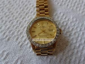 Damen Uhr Rolex Oyster Perpertual Von 1982