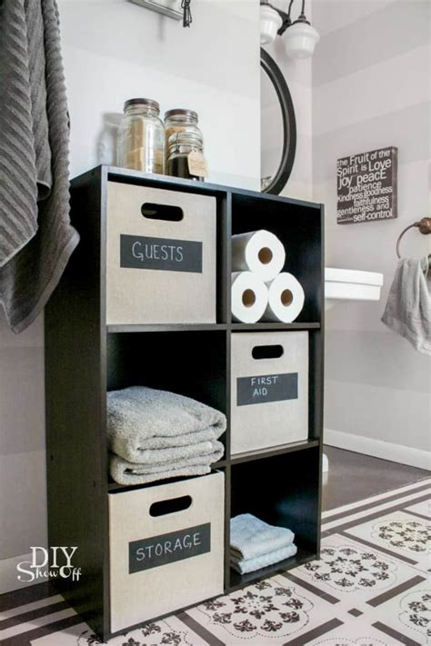 creative ways   cube storage  decor