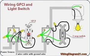 Wiring Diagram For A Light Switch And Outlet