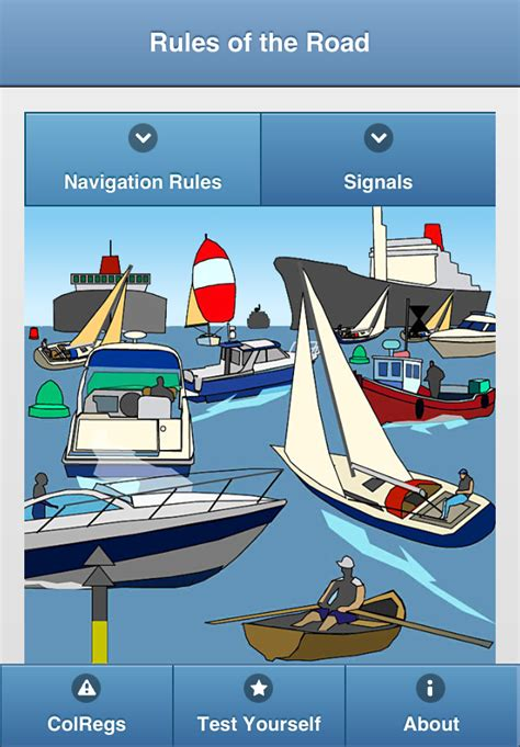 Boat Navigation Definition by Colregs Learn Nautical Of The Road Power Boating
