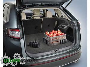 2015 2016 Ford Edge Black Trunk Cargo Logic Storage System