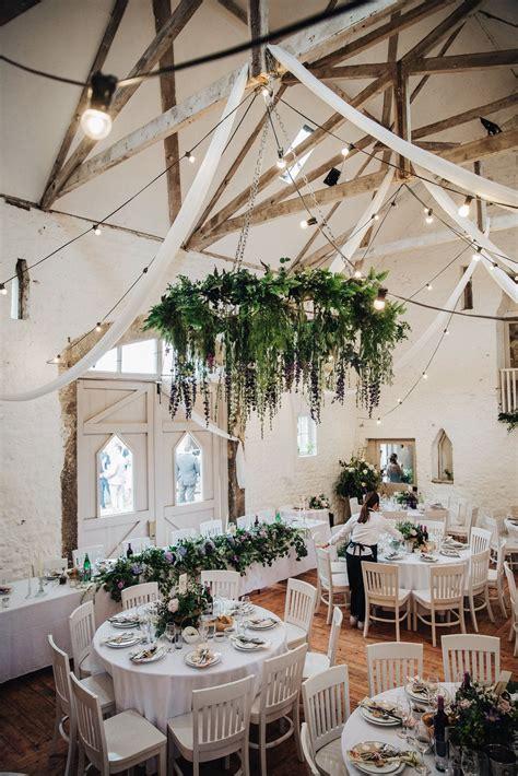 barn wedding wyresdale park scorton table decor