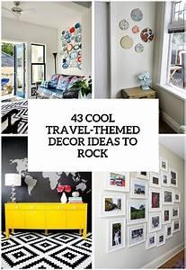 31, Cool, Travel-themed, Home, D, U00e9cor, Ideas, To, Rock