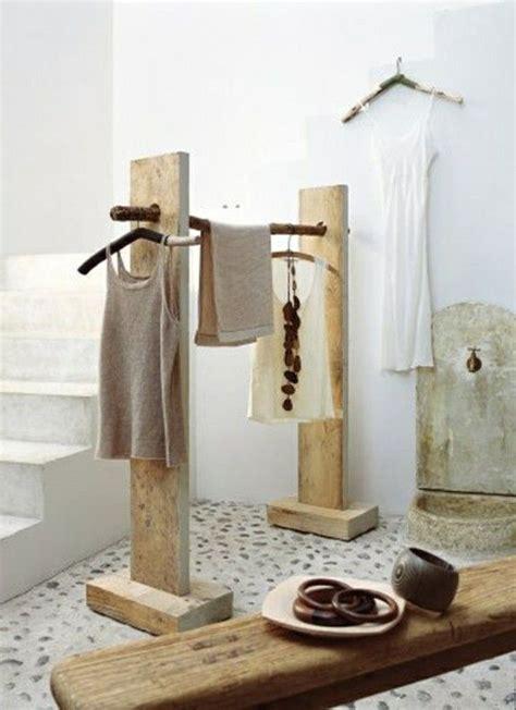 ausgefallene garderobe selber bauen salvage wood decor