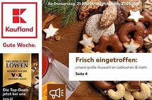 Angebote Kaufland Prospekt : kaufland prospekt kw 38 die lebkuchen sind los ~ A.2002-acura-tl-radio.info Haus und Dekorationen