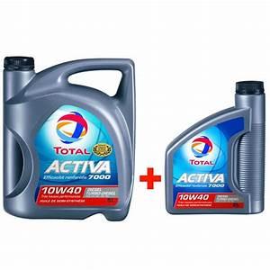 Huile Voiture Diesel : huile moteur total activa 7000 10w40 diesel 5 l 2 l ~ Medecine-chirurgie-esthetiques.com Avis de Voitures