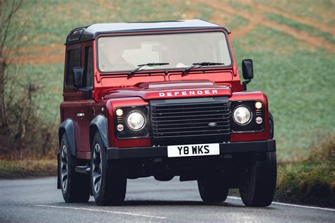 Limited Land Rover Defender Works V8 Launched With 400bhp