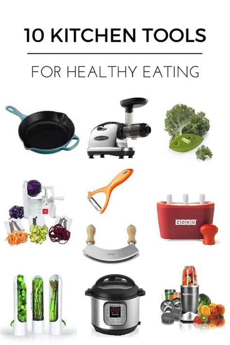 tools kitchen healthy eating utensils eat cooking gadgets gourmandeinthekitchen haves must helpful easy right these