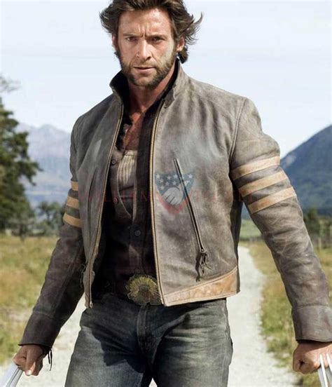 Hugh Jackman X-Men Wolverine Origins Jacket - William Jacket