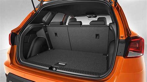 taille coffre seat dimensions seat arona 2018 coffre et int 233 rieur