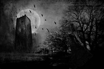 Gothic Dark Background Wallpapers Wall