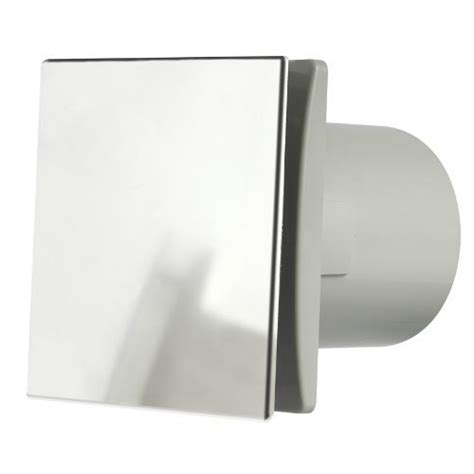 bath fan with humidistat manrose rtdeco 100mm bathroom fan w timerand humidistat chrome