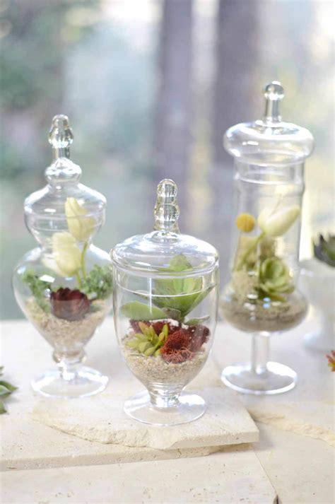 set   small apothecary jars