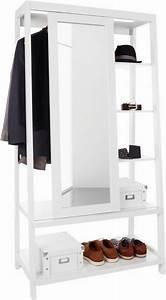 Garderobe Mit Spiegel : home affaire garderobe mit spiegel schiebet r otto ~ Eleganceandgraceweddings.com Haus und Dekorationen