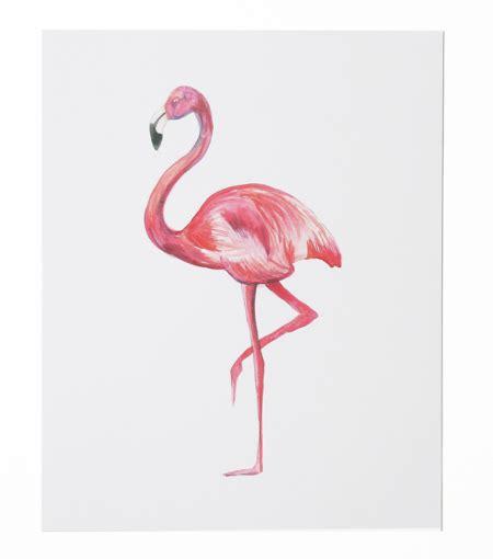 easter tabletop flamingo print thimblepress