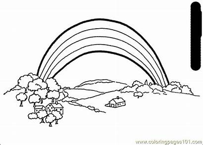 Coloring Rainbows Printable Pages Memory Rainbow Learning