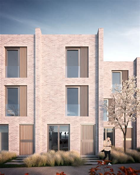 Modern Style Architectural Renders by Annabelle Tugby Architects Architectural Render By Mdc