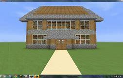 HD wallpapers minecraft maison moderne facile a construire ...