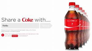 canadians share a coke bevwire With custom coke bottle label