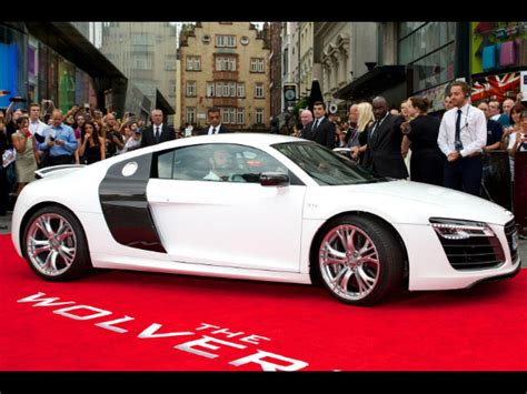 Audi  Audi R8 During The Wolverine Uk Premiere  Off Beat