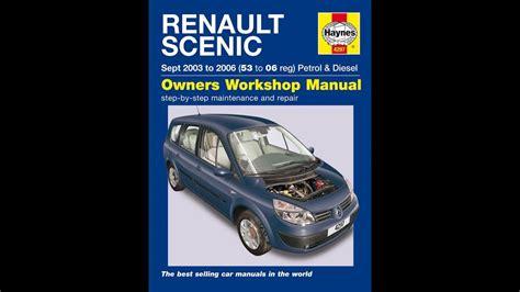 Free Renault Scenic Repair Manual Grand Haynes