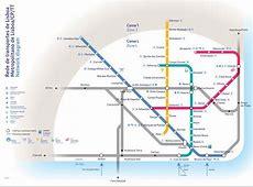 Map of Lisbon Metro, Portugal