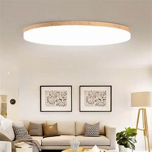 Holz Lampen Decke : moderne einfache 5cm ultra d nne led decke lichter eiche holz decke lampen f r wohnzimmer ~ A.2002-acura-tl-radio.info Haus und Dekorationen