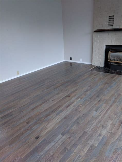 minwax classic gray  white oak hardwood floors sherwin