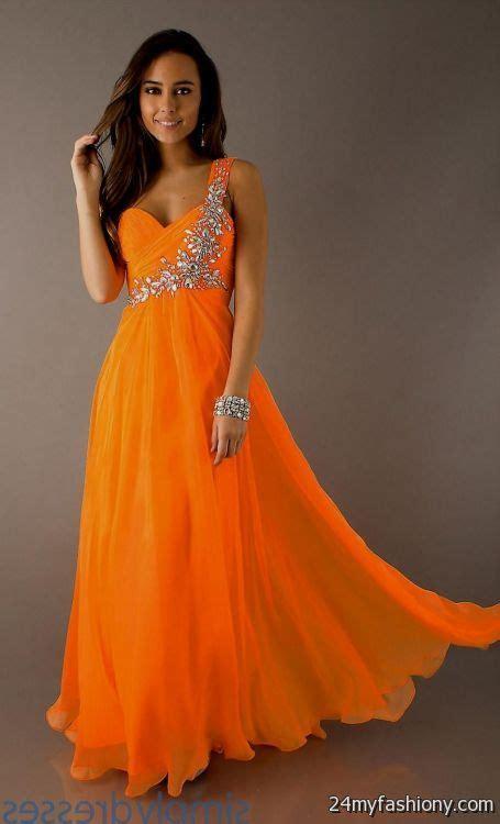 neon orange bridesmaid dresses  bb fashion