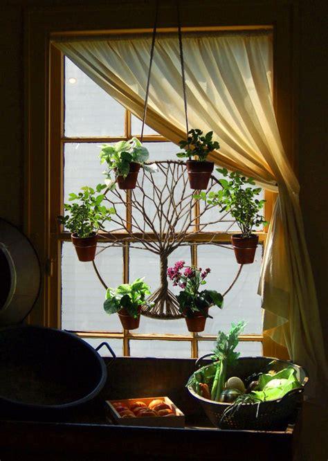 Window Plants by Bohemian Decor Plan Hanger In Window Plants Succulents