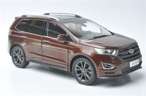 ford edge crossover ford edge 2015 suv model in scale 1 18 red cad 213 09