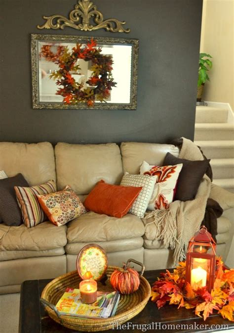 fall room decorating ideas warm and cozy fall living room