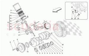Maserati Quattroporte  2013   Gts Crank Mechanism Parts