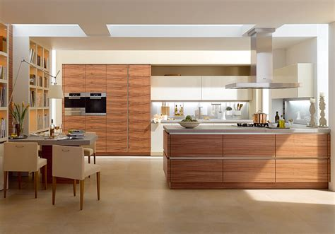 modern high gloss white color simple design kitchen