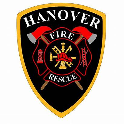 Fire Hanover Department Badge Clipart Rescue Ems