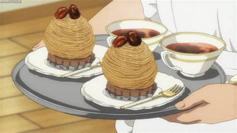 Satisfying Anime Food Gifs Latte Coffee Maker Uk In Italian Arabic Abu Dhabi Dunkin Iced Calories Donuts To Water Ratio Youtube Wig