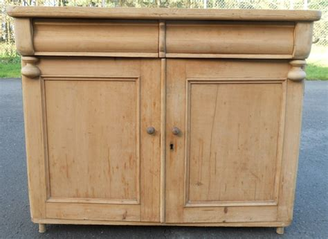 antique pine tv victorian stripped pine chiffonier sideboard base 256923