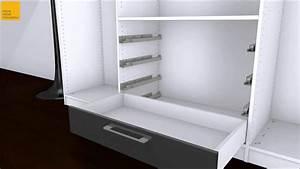 Ikea Pax Schublade : schubkasten in schrank einh youtube ~ Eleganceandgraceweddings.com Haus und Dekorationen