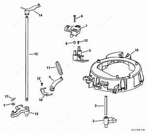Evinrude 1999 175 - E175fpleec  Throttle Linkage