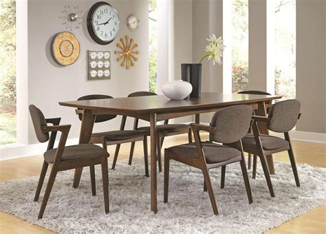 Victoria Contemporary Style Dining Table Set