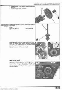 2014 Honda Gl1800 C A Valkyrie Service Manual