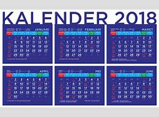 Kalender 2018 dengan Penanggalan Jawa dan Arab serta Hari